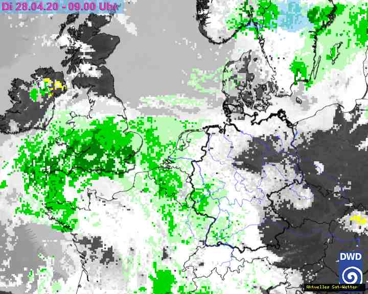 Regen Radar Satellit Wetter